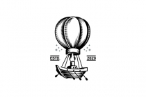 Hot Air Ship Logo