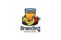 Fruity Drink Logo