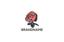 Rose Woman Logo