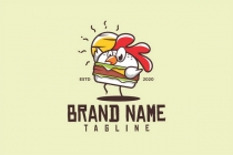 Chicken Burger Logo