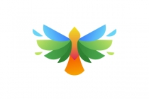 Bird Feathers Logo