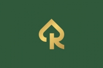 Dome Letter R Logo