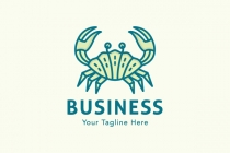 Seashell Crab Logo