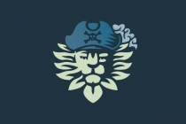 Lion Pirate Logo