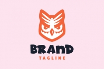 Cute Owl Logo