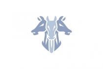 Three Horse Head Logo