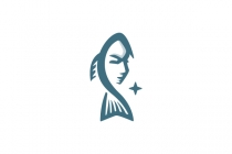 Girl Fish Logo