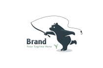 Fishing Bear Logo