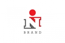 IN NI monogram Logo