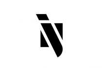 NJ JN Monogram Logo