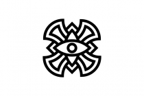 Tribal Eye Logo