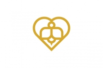 Love Bee Logo Design