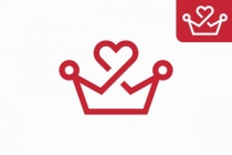 Heart Crown Logo