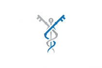 Keys Caduceus Logo