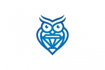 Diamond Owl Logo