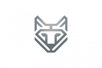 Diamond Wolf Logo