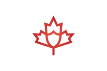 Shield Maple Leaf...