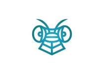 Dragonfly Head Logo