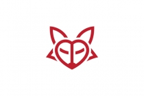 Heart Fox Logo