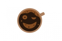 Eye Wink Coffee Logo