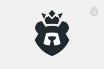 Royal Bear King Logo