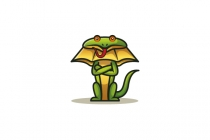 Cute Lizard Logo