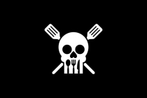 Cooking Skull Logo