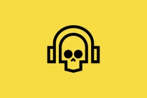 Skull Headphones Logo