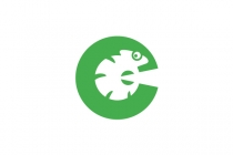 C For Chameleon Logo
