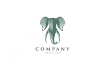 Elephant Head Logo