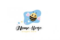 Cute Bee Logo