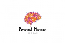 Dot Brain Logo