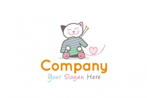 Knitting Kitty Logo
