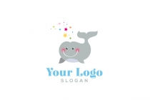 Whale Baby Logo