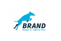Jumping Dog Logo
