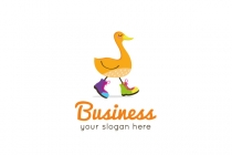 Duck In Boots Logo