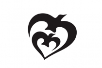 Heart Birds Logo