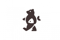 Bear And Fish Logo