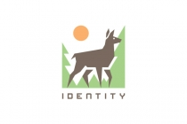 Deer Nature Logo