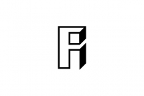 Letter Fi Or A Logo