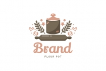 Flour Pot Logo