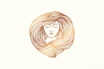 Beautiful Woman Logo