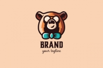 Cool Expert Bear Logo...