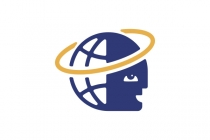 Globe Head Orbit Logo