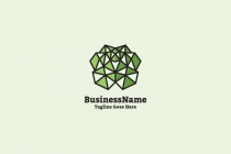 Geometric Brain Logo
