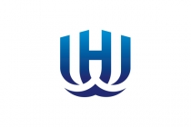 WH Letters Logo