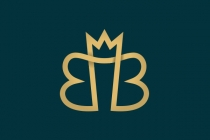 Letters BB Crown Logo