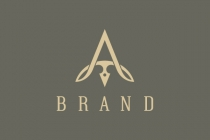 Luxury Letter A Logo