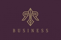 Luxury Letter Rr Logo