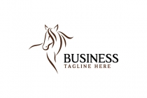 Handsome Horse Logo